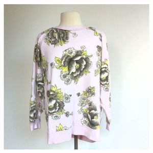 Free People Women Size XS Go On Get Floral Top